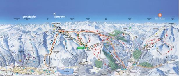 piste sci davos