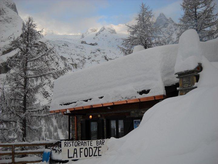 Ristorante La Fodze Val Veny Courmayeur Skimania Sciare Che