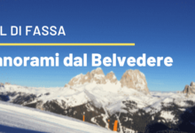 Photo of Ski area Belvedere Canazei: foto e video panoramiche