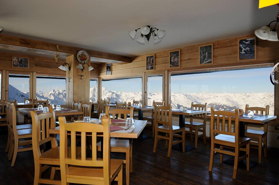 Panoramic Restaurant Heaven 3000 bormio