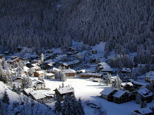 Champoluc in Val D'Ayas