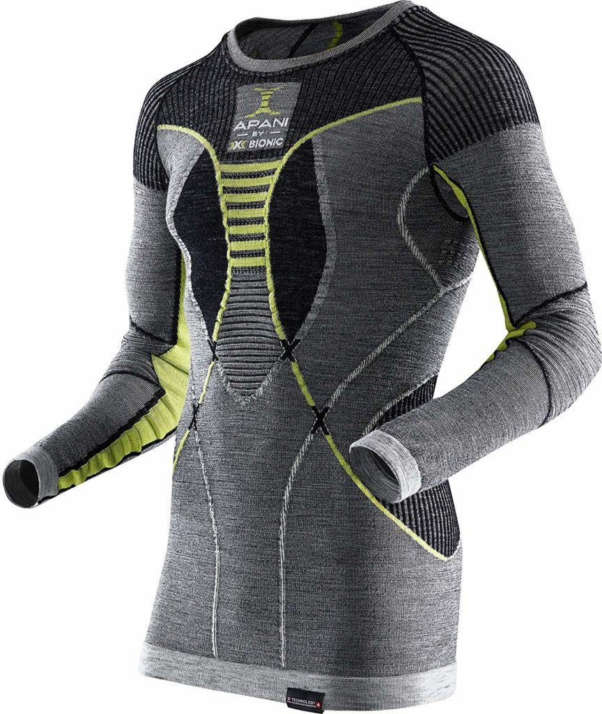 maglia termica in lana merino