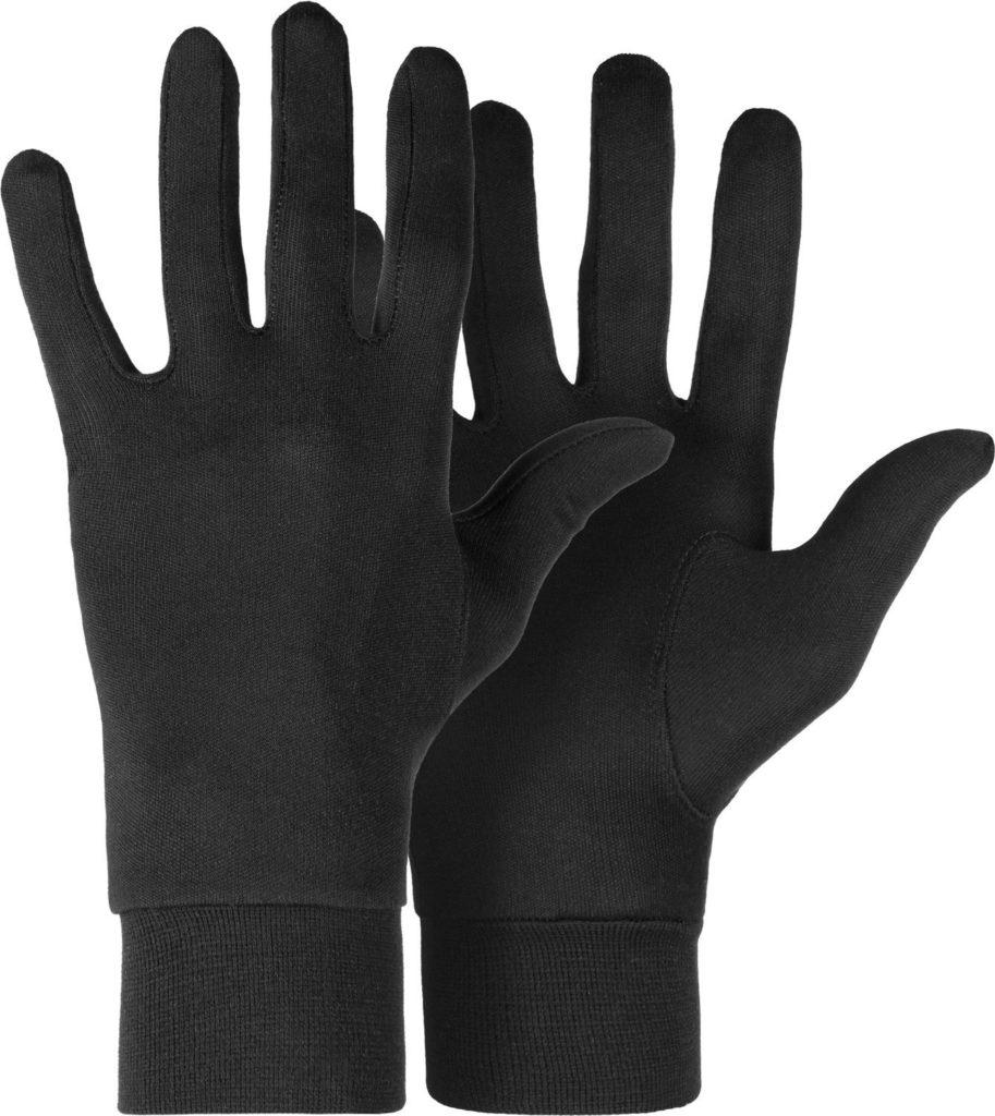 guanti in lana merino