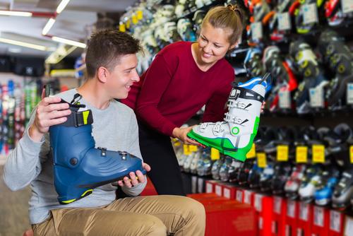 Come provare gli scarponi da sci