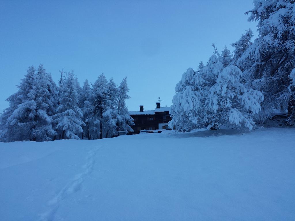 rifugio ermitage Chamois