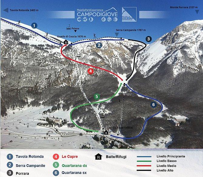 Photo of Guida per andare a sciare a Campo di Giove, piste ed impianti