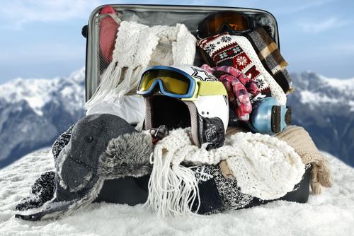 valigia per vacanze