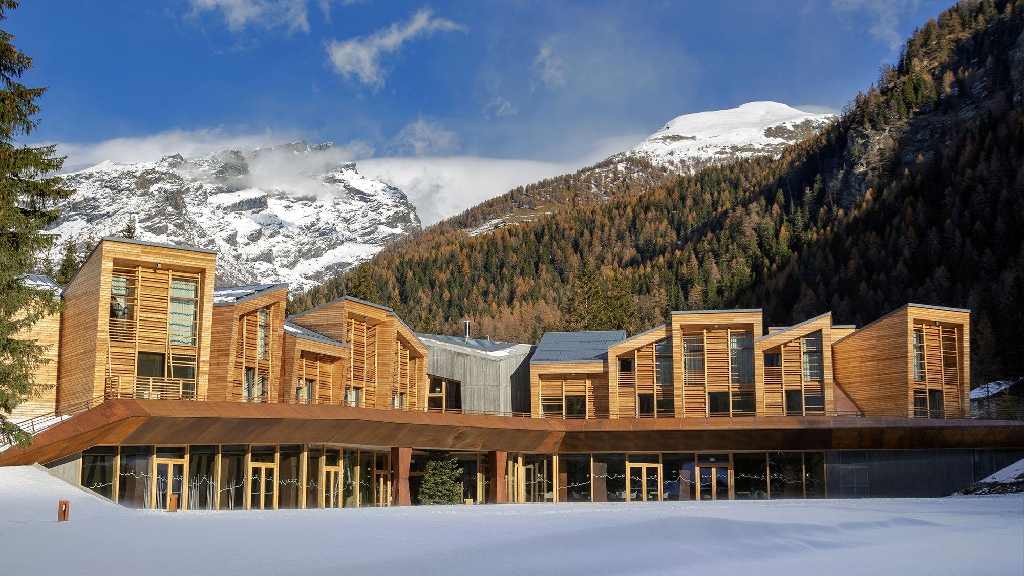 Photo of Andiamo a scoprire il CampZero Active & Luxury Resort a Champoluc