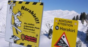 pista harakiri a Mayrhofen