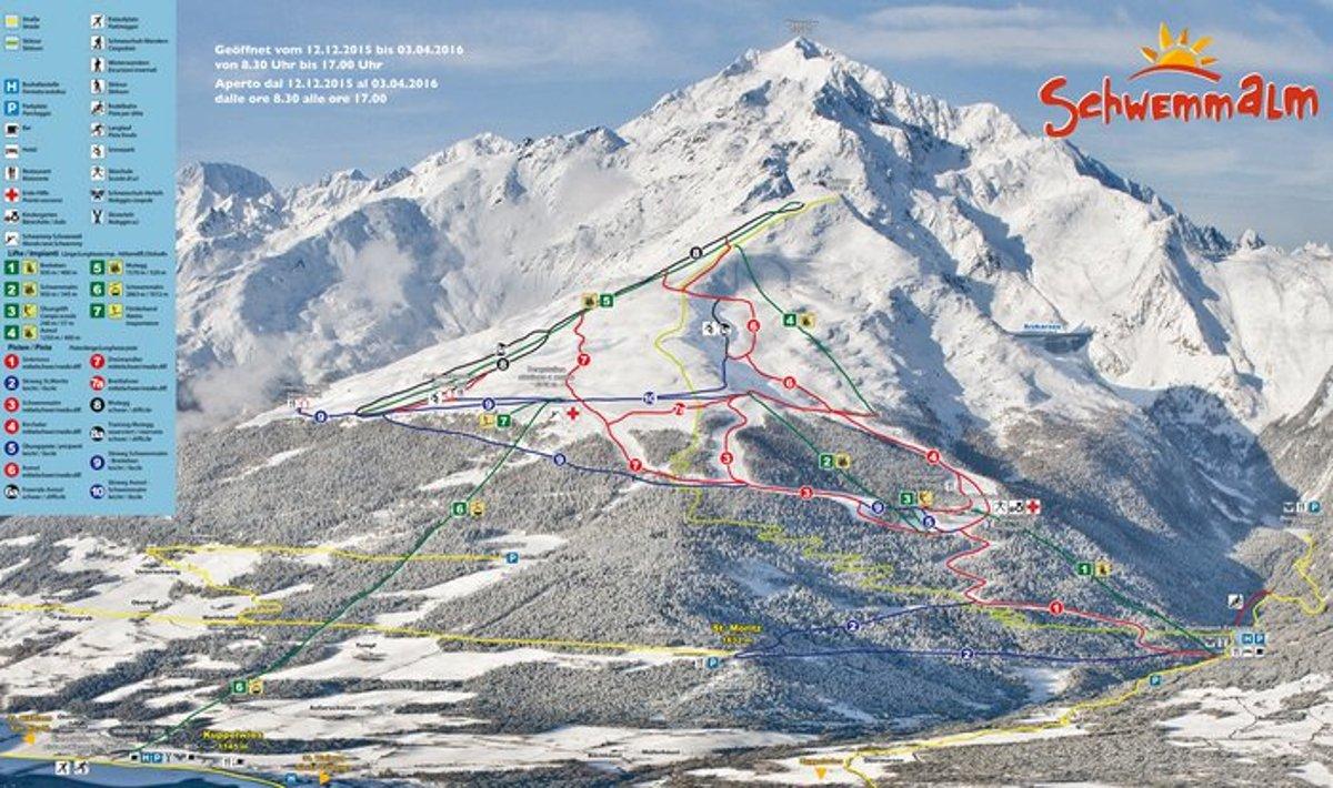 Photo of Guida ad una settimana bianca a Schwemmalm in Val d'Ultimo