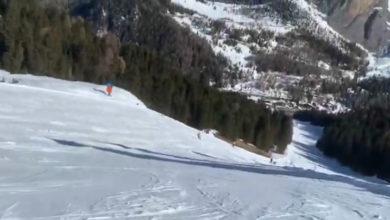 Photo of Video della Pista Ciampinoi 6 sino a Plan de Gralba