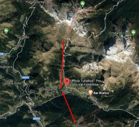carosello delle dolomiti Civetta ski - Cortina